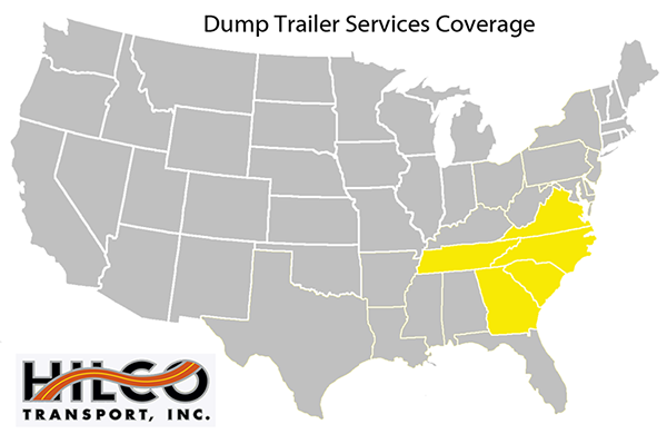 Dump Trailer Services Coverage Scaled