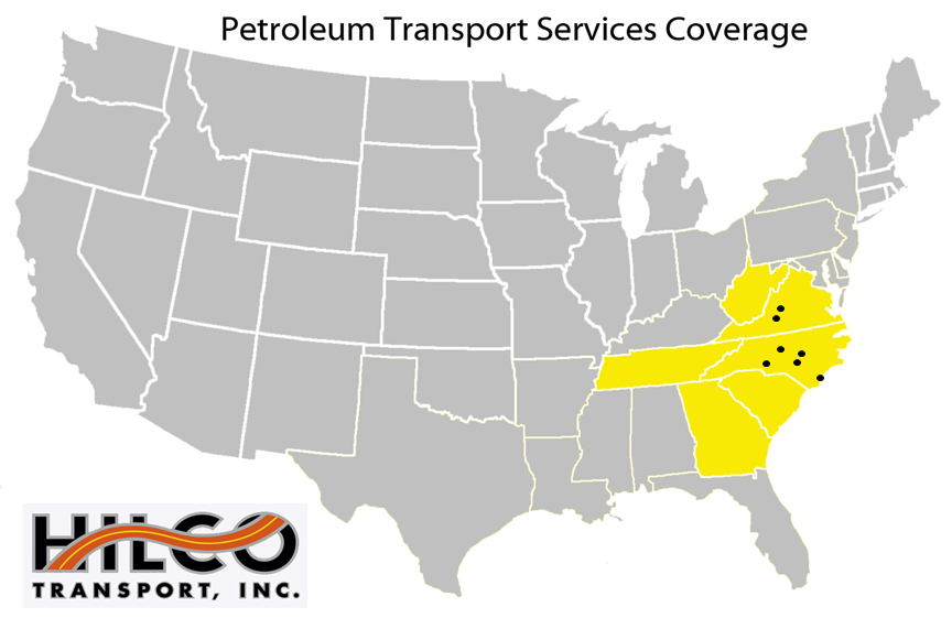 Petroleum Transport Services - w dots